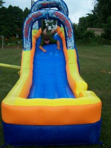 My Water Slide the Kids LOVE