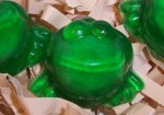 harry potter party favor exploding frog soap