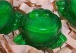 harry potter party favor exploding frog soap