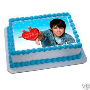 jonas brothers edible cake image