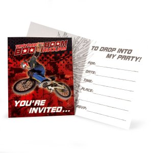Tony Hawk's New Boom Boom HuckJam Invitations