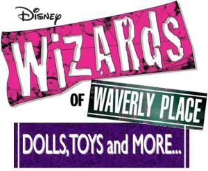 Wizards of waverly place toys