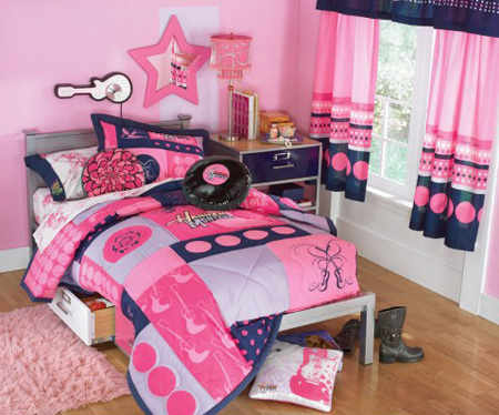 solid color hannah montana forever bedroom makeover the