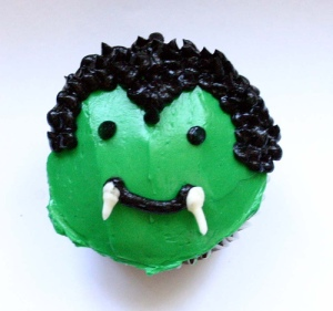 Fang Monster Cupcake