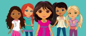 dora-links-explorer-girls