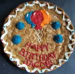 giant cookie birthday cake