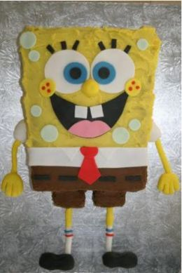 Spongebob Birthday Cake on Spongebob Cake Template   Thepartyanimal S Musings