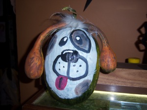 Painted Dog Pumpkin