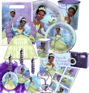 The Princess and the Frog Deluxe Party Pack